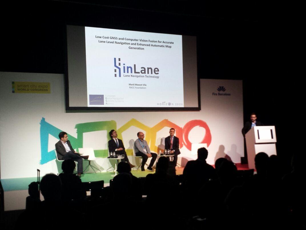 inLane @ Smart City Expo 2016