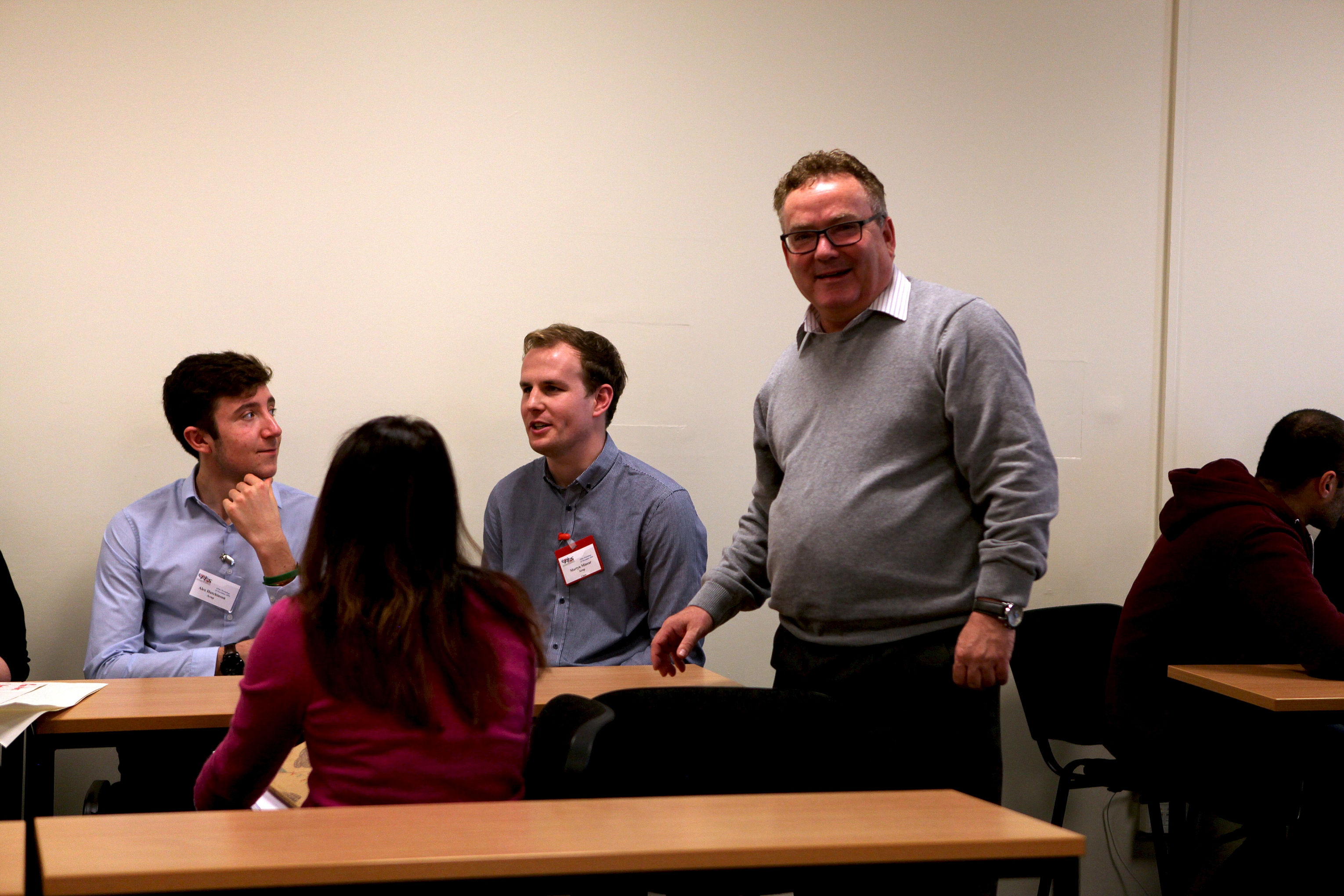Chief Scientific Adviser leads workshop for ITS United Kingdom young professionals