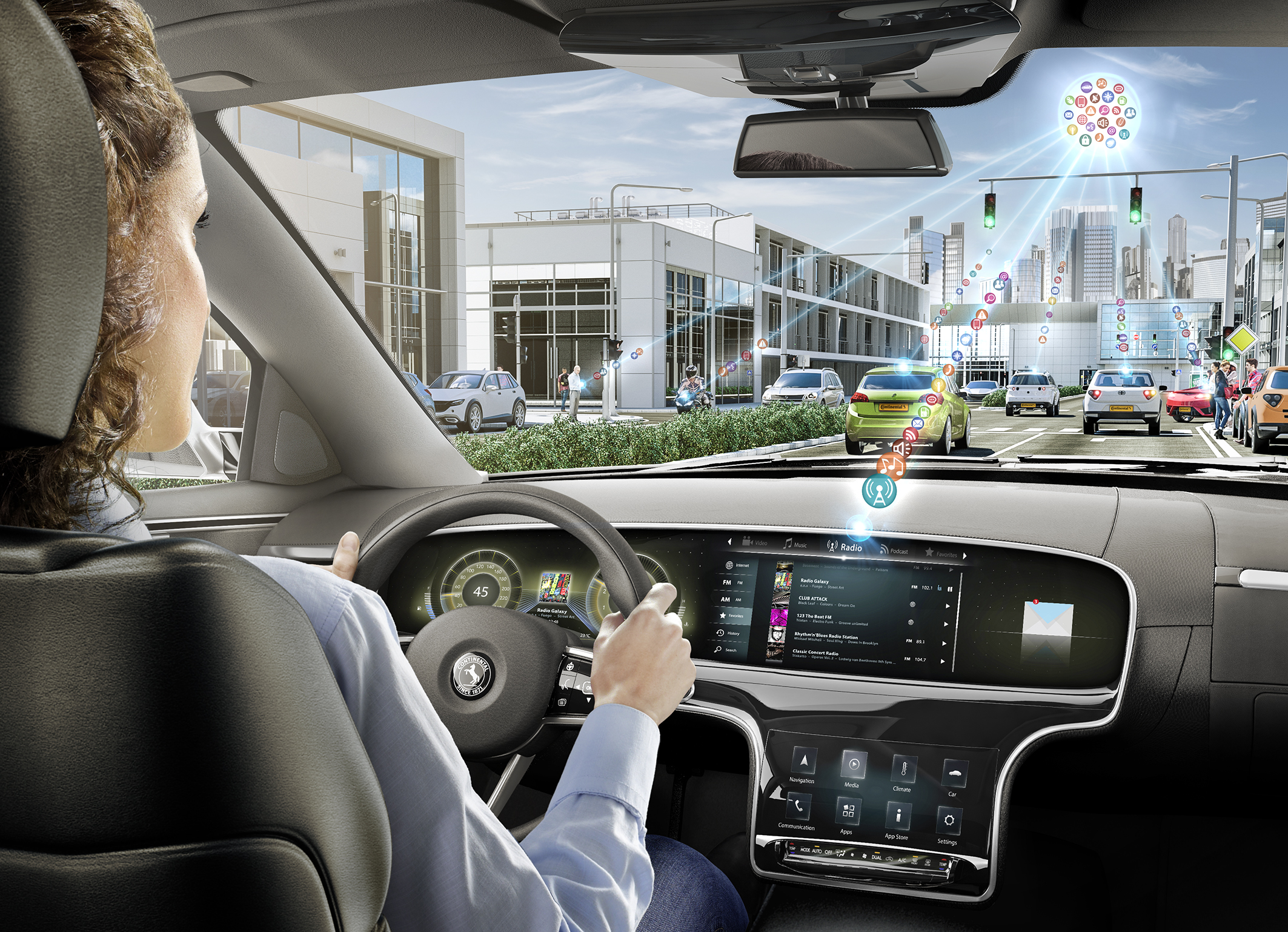 CES 2017: Continental Showcases the Building Blocks for Future Digital Mobility