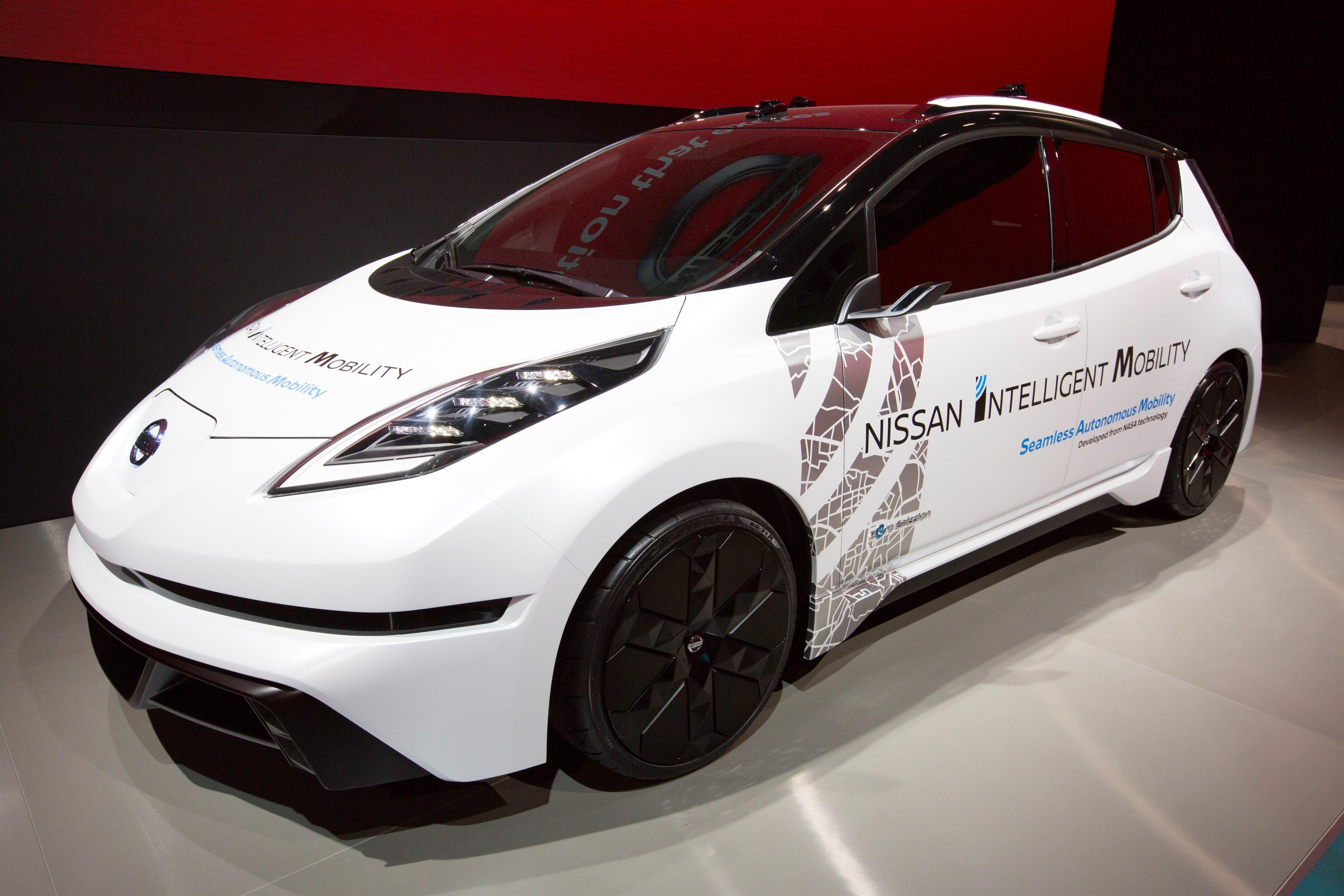 Nissan announces on-road autonomous vehicle tests in London