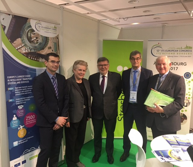 ITS Strasbourg 2017 at the ATEC-ITS France Conference in Paris