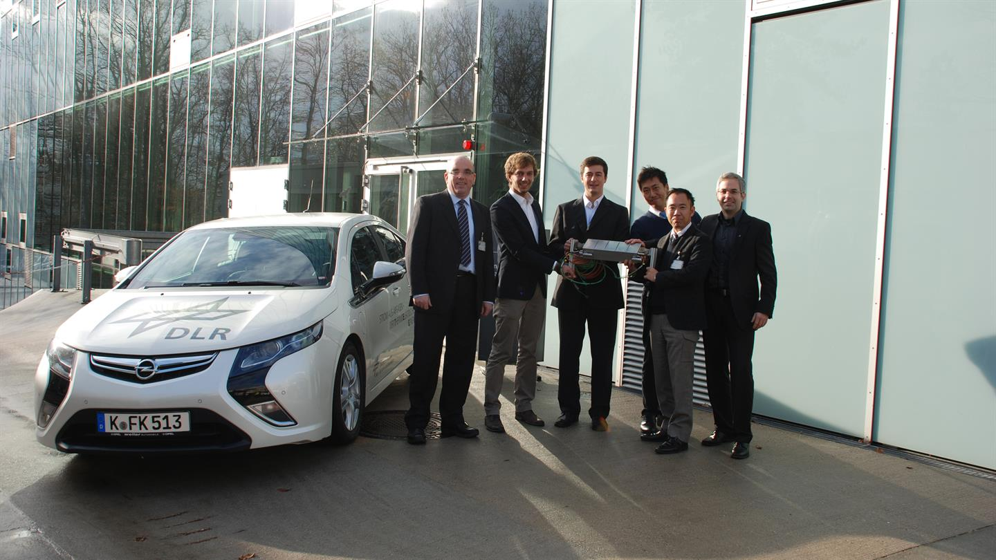 DLR is cooperating with Yamaha Corporation to develop thermoelectric vehicle systems