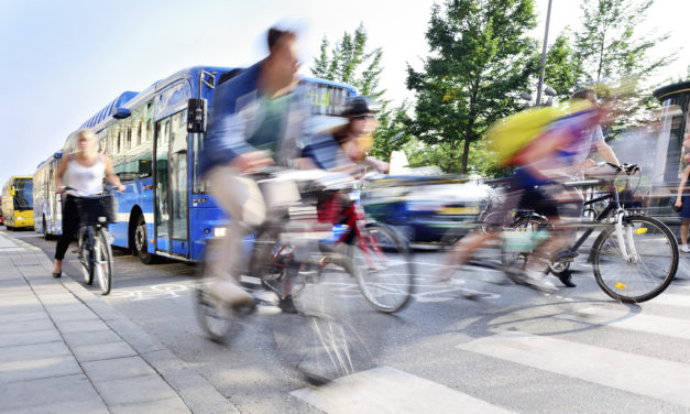 Danish city encourages residents to trial alternative means of commuting