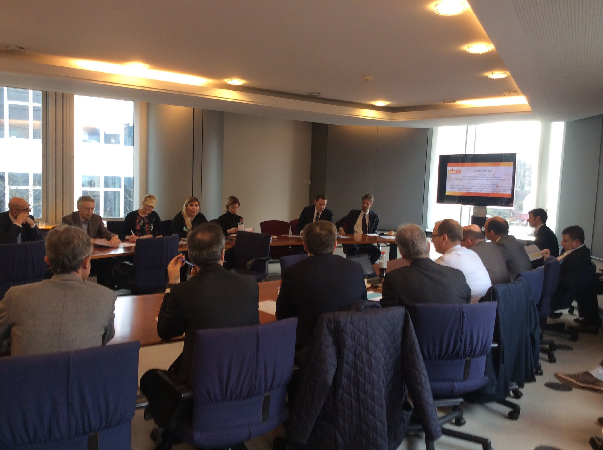MaaS Alliance welcomed at the European Parliament