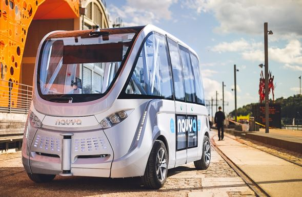 The Eurodistrict Strasbourg-Ortenau announces the results of  the Cross-Rhine Driverless Shuttle Challenge
