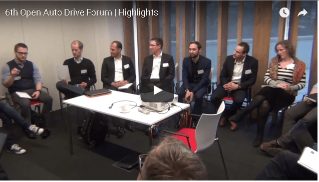 Check the video highlights of the Open Auto Drive Forum hosted by TISA