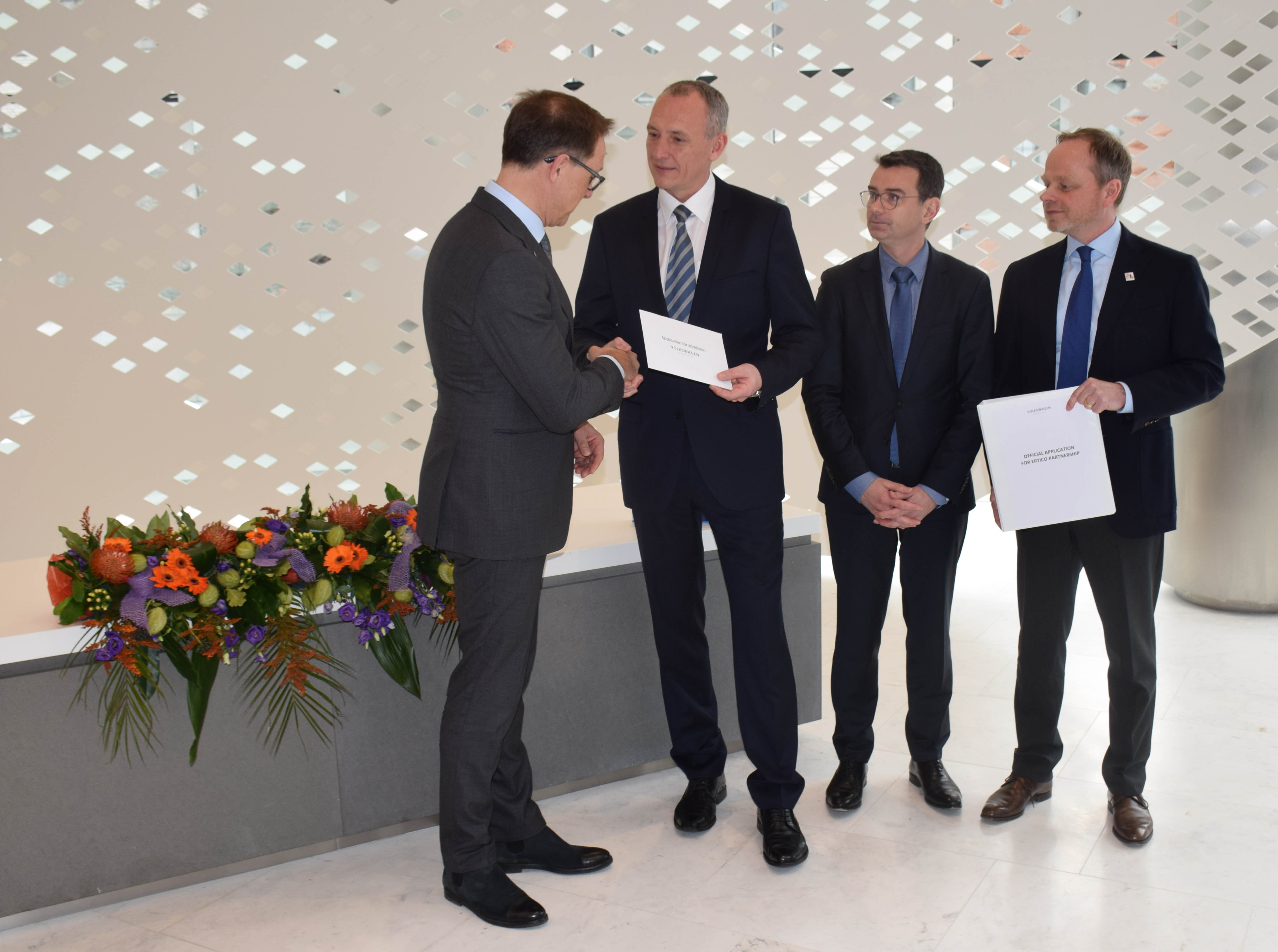 Volkswagen Group joins the ERTICO Partnership
