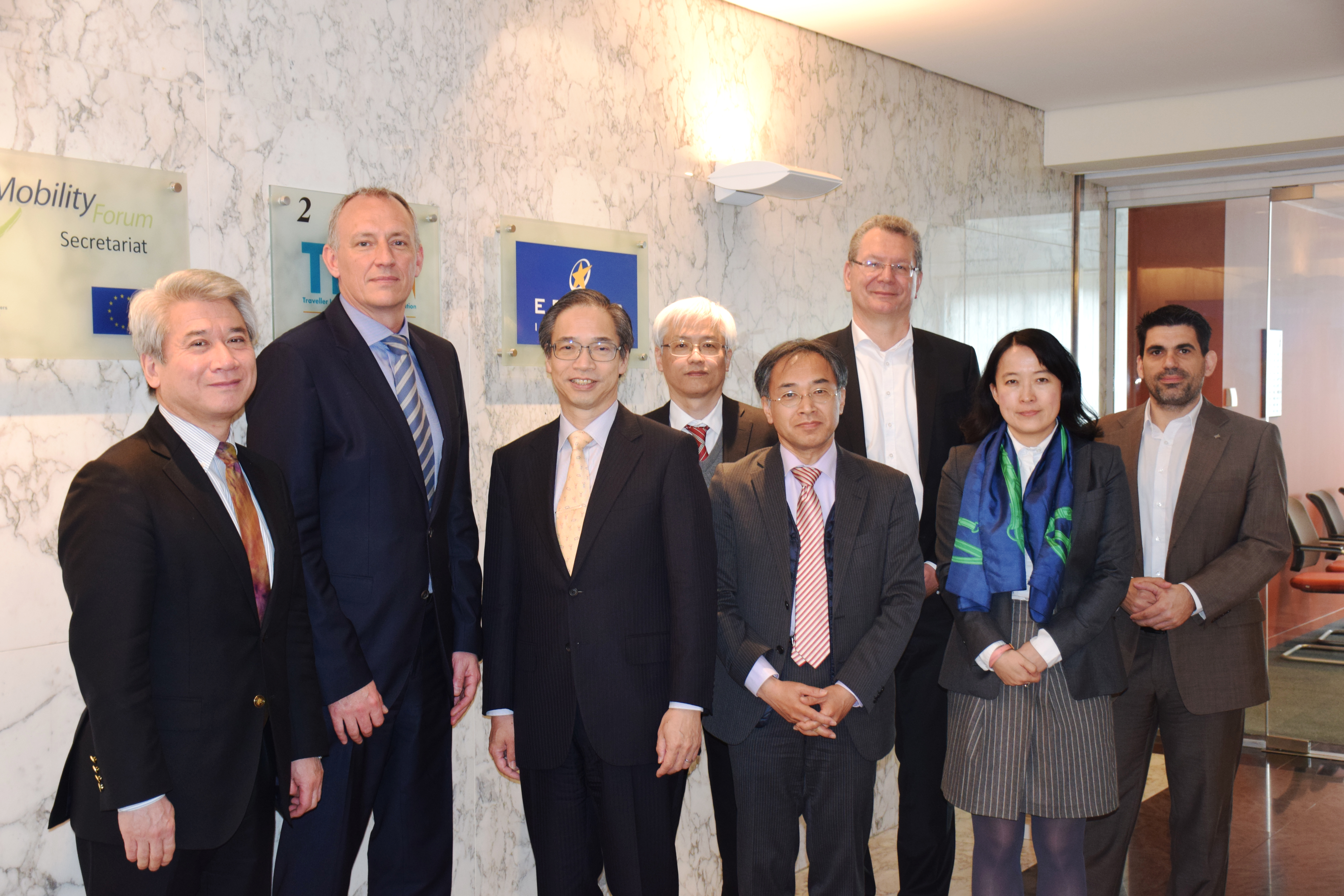 ITS Japan delegation pays visits to ERTICO on 7th April 2017