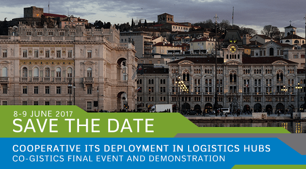Registrations open for CO-GISTICS Final Event & Demo in Trieste, Italy