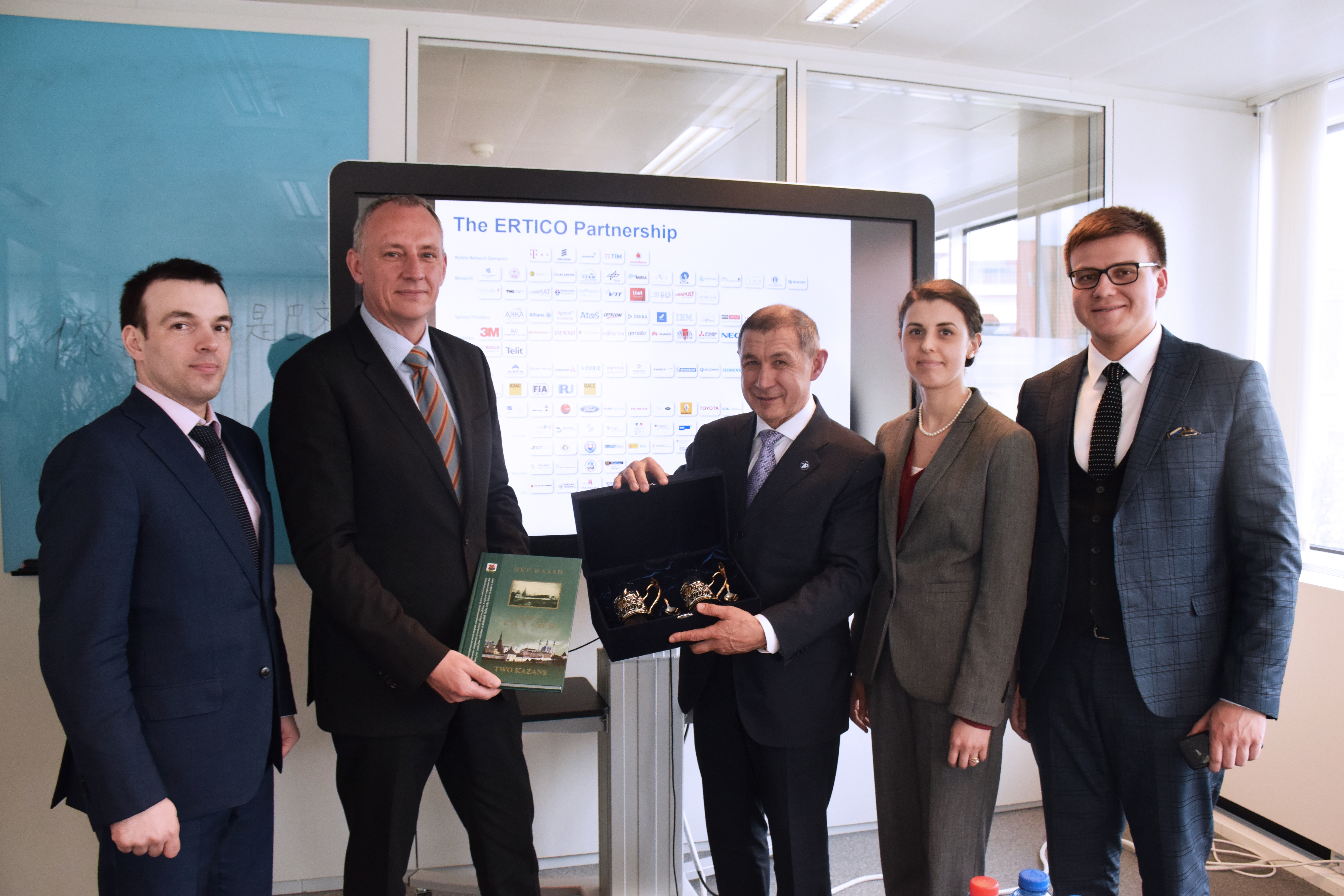 Tatarstan Ministry visits ERTICO