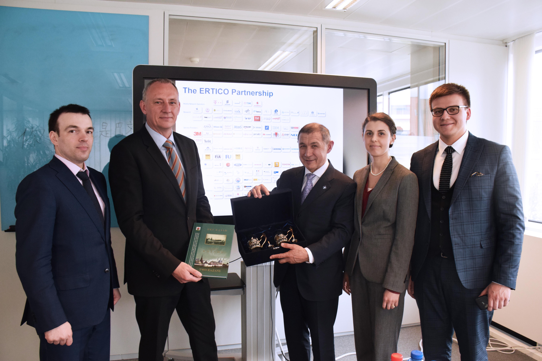 Tatarstan Ministry visits ERTICO