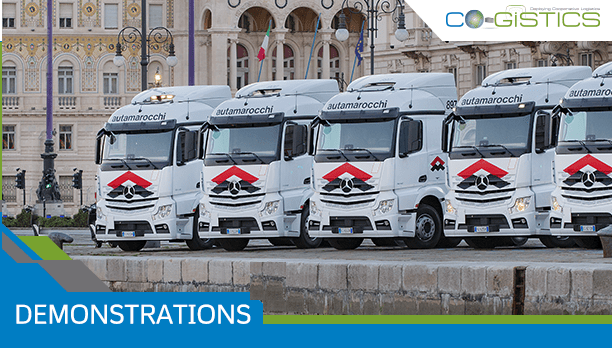 CO-GISTICS final demo to show C-ITS logistics services in action in 3 locations in Trieste