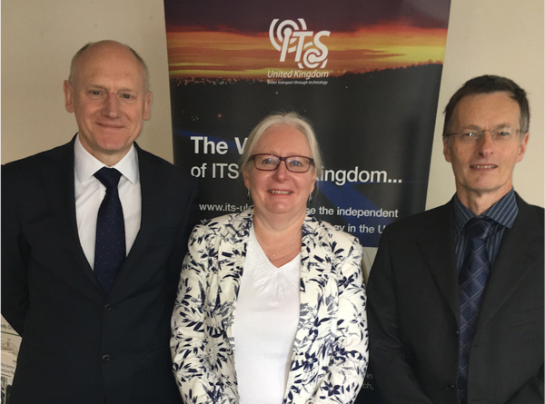 ITS (UK) elects Ian Patey as new Chairman