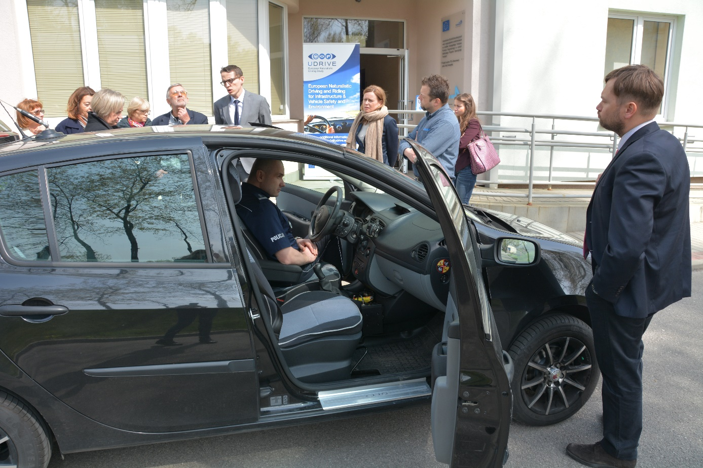 What happened at the UDRIVE regional workshop in Warsaw, Poland?