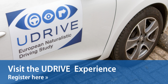 Join us at the UDRIVE Experience – Detailed programme