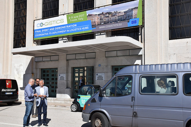 CO-GISTICS final demonstration shows C-ITS services in Trieste logistic hub