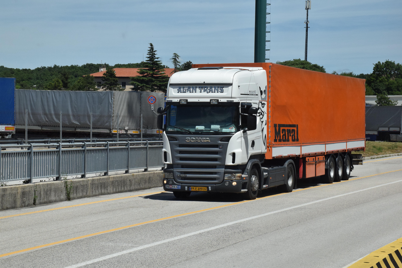 Heavy Goods Vehicles eCall event