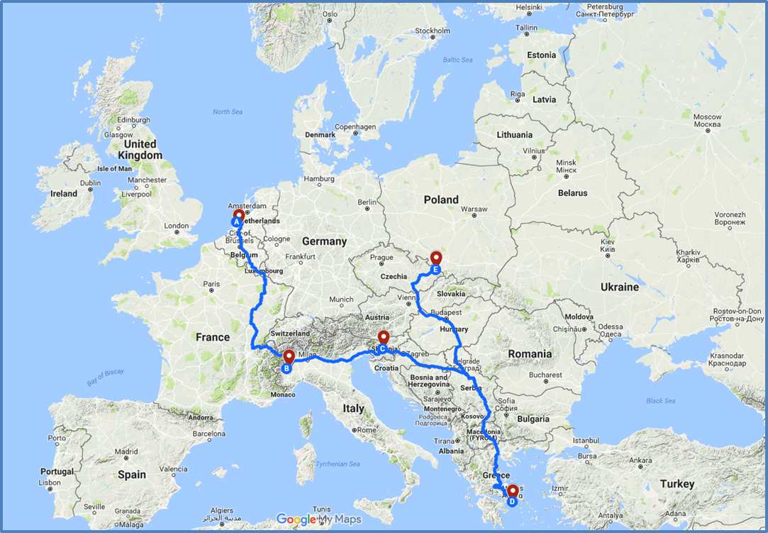 i heero demo tour crossing 5 european countries to highlight