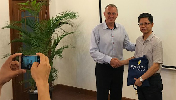 ERTICO visits China to strengthen ties
