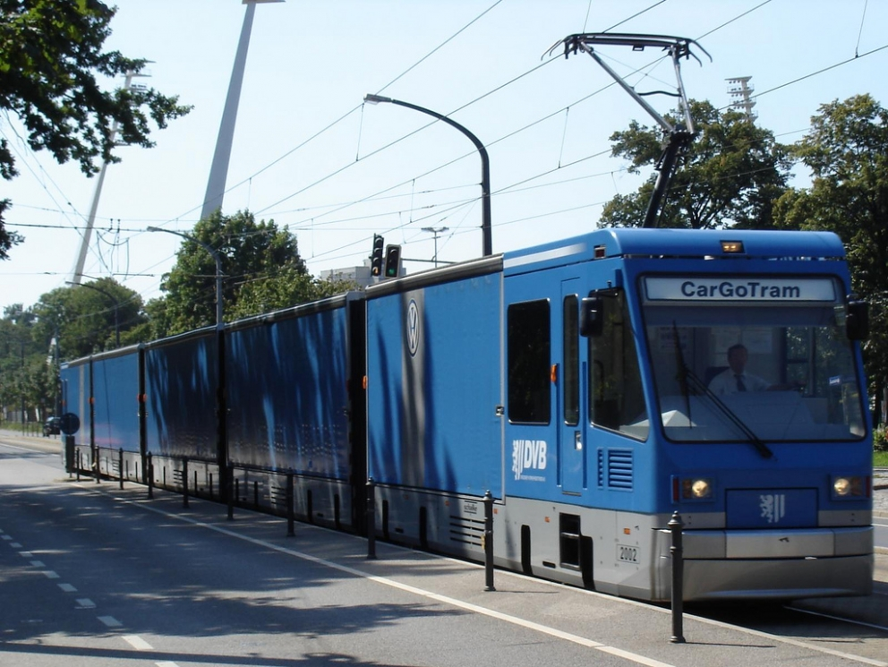 Electric trams: a new urban freight solution?