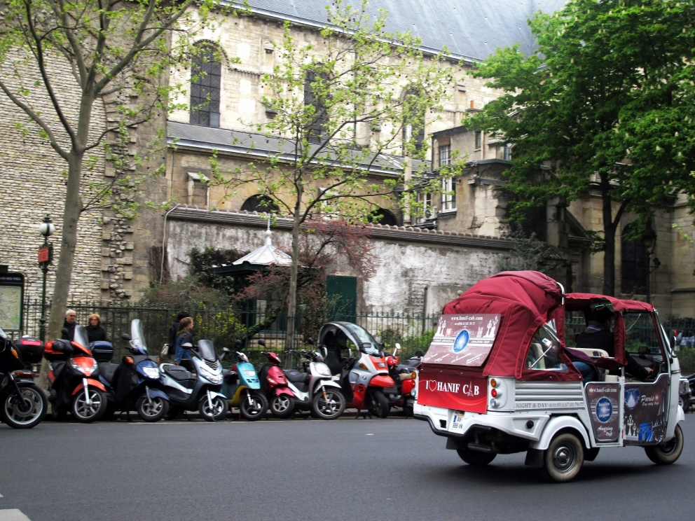 Let's scoot! Paris's scooter sharing scheme (France)