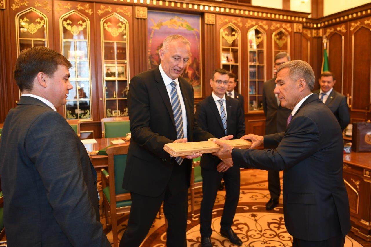 ERTICO – ITS Europe strengthens Tatarstan ties