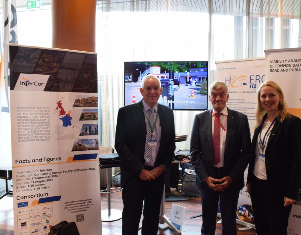 ERTICO meets MEP van de Camp at Connecting Europe Conference