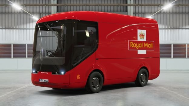 British Royal Mail introduces electric delivery vans