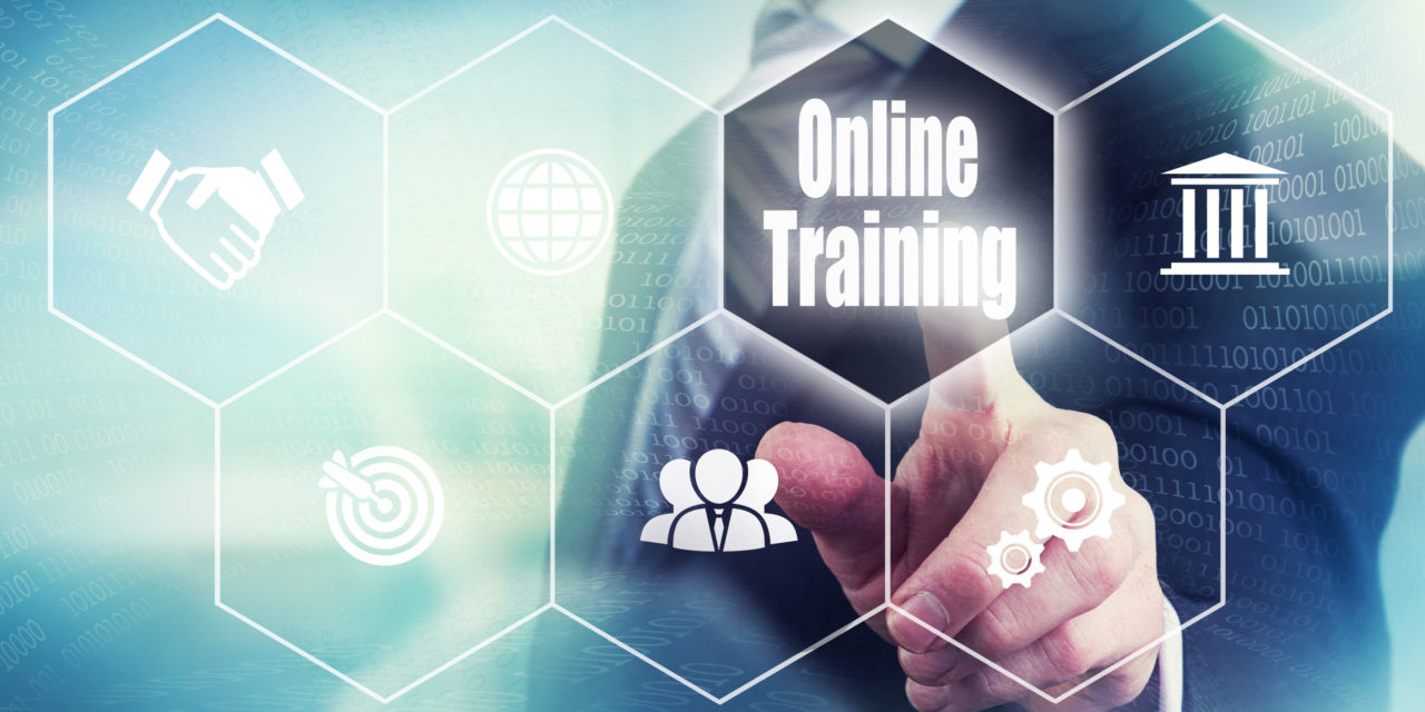 Online e-learning platform to provide innovative ITS training