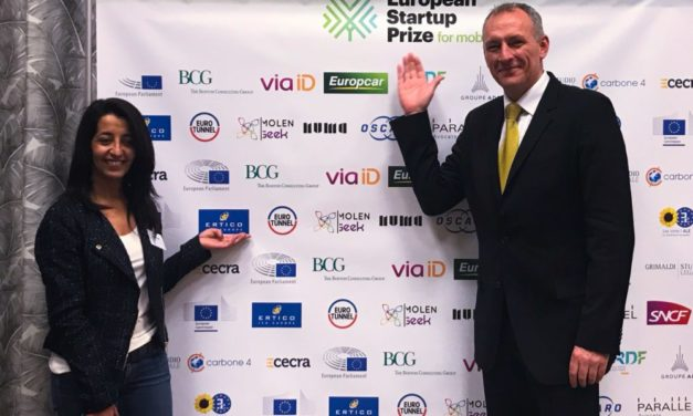 Apply or support the 2019 EU Startup Prize for Mobility