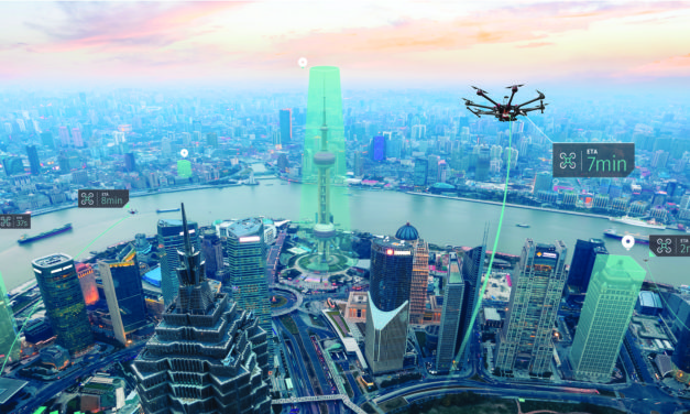HERE and Unifly to map the airspace for drones for airborne and ground traffic