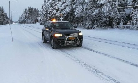 Martti, VTT's first robot car to challenge snow and ice