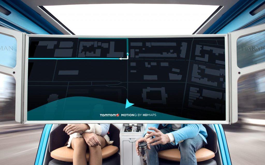 TomTom's autonomous vehicles prevent motion sickness
