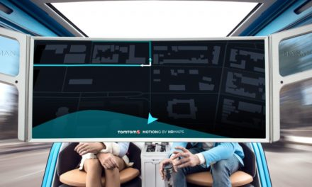 TomTom's autonomous vehicles prevent motion sickness