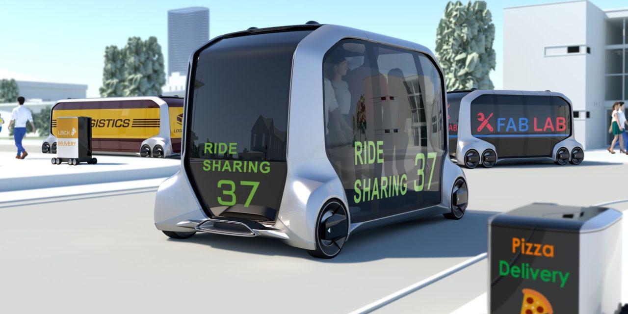 Toyota presents e-Pallet, new battery-electric autonomous platform