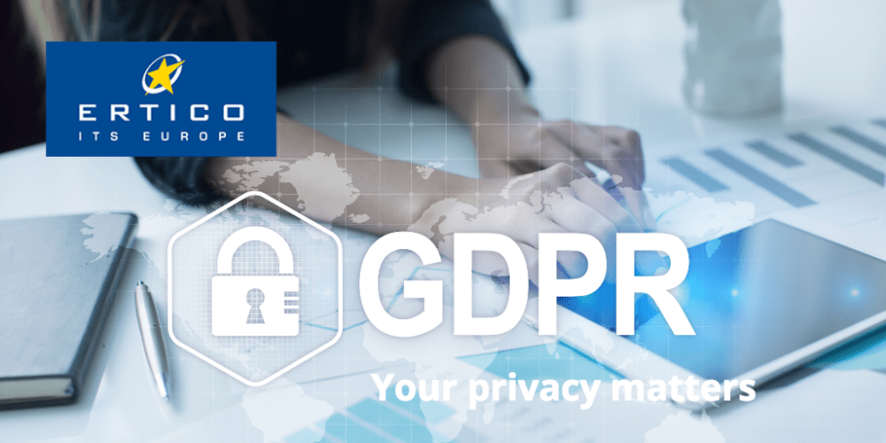 ERTICO news on the move towards GDPR