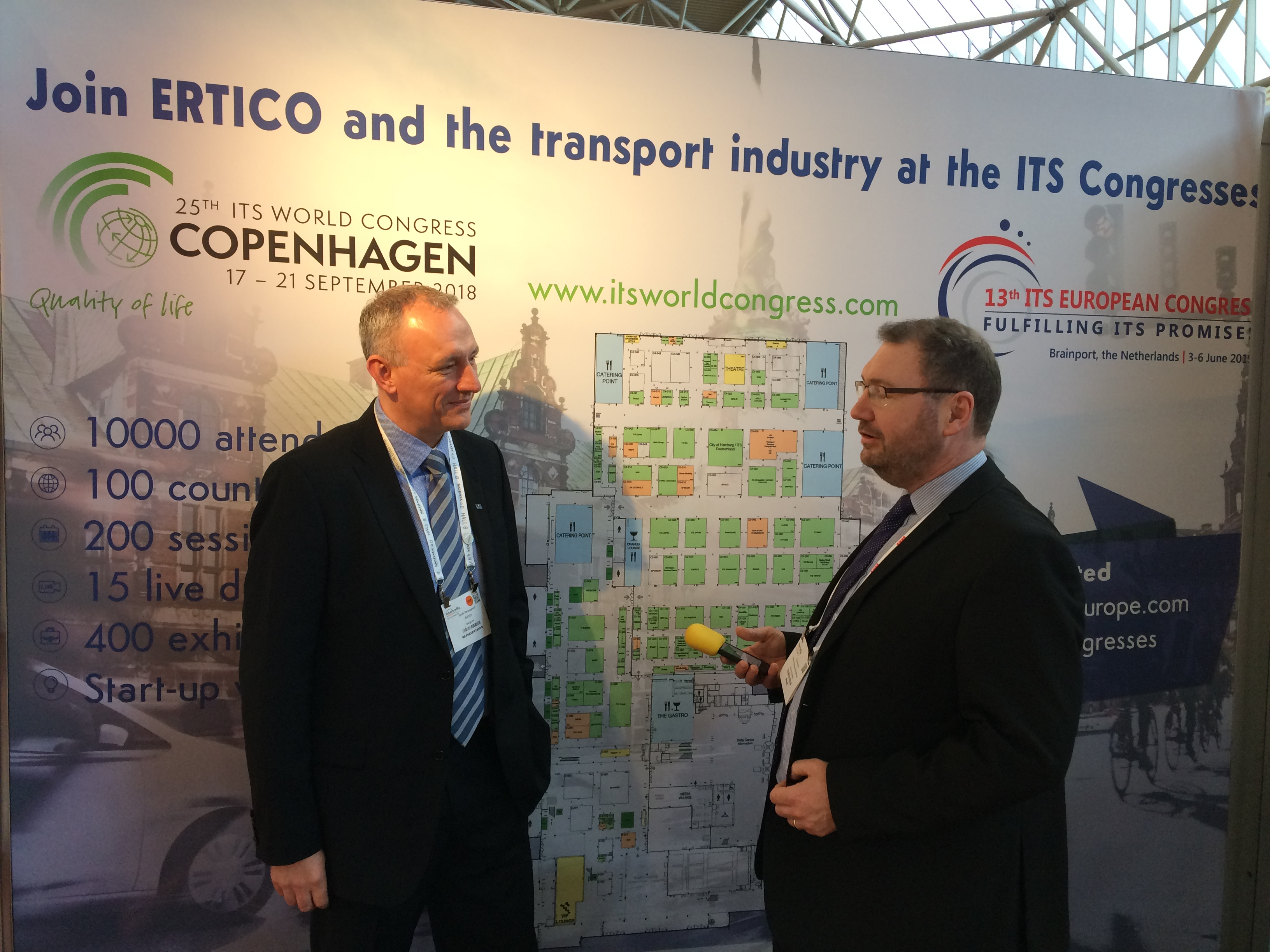 Partnership is the key to success: a recap of Intertraffic - ERTICO