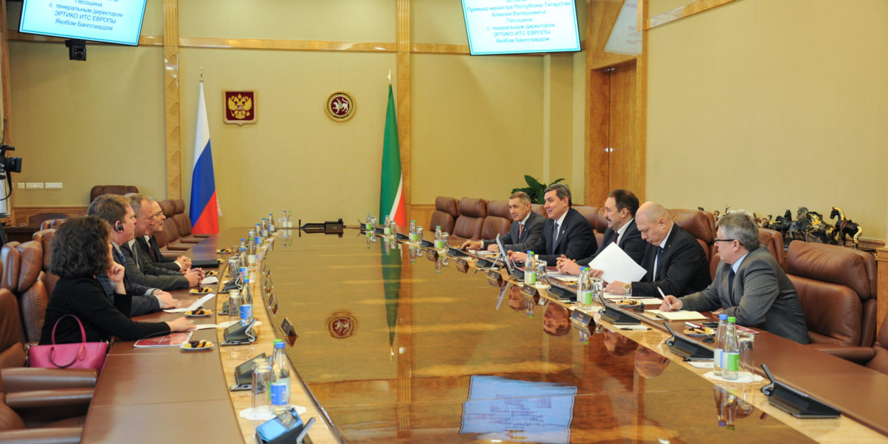 Fostering international cooperation: ERTICO delegation visits Kazan
