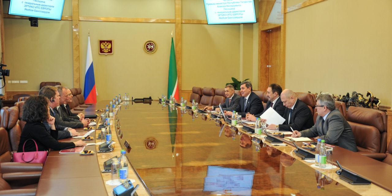Fostering international cooperation: ERTICO delegation visits Kazan