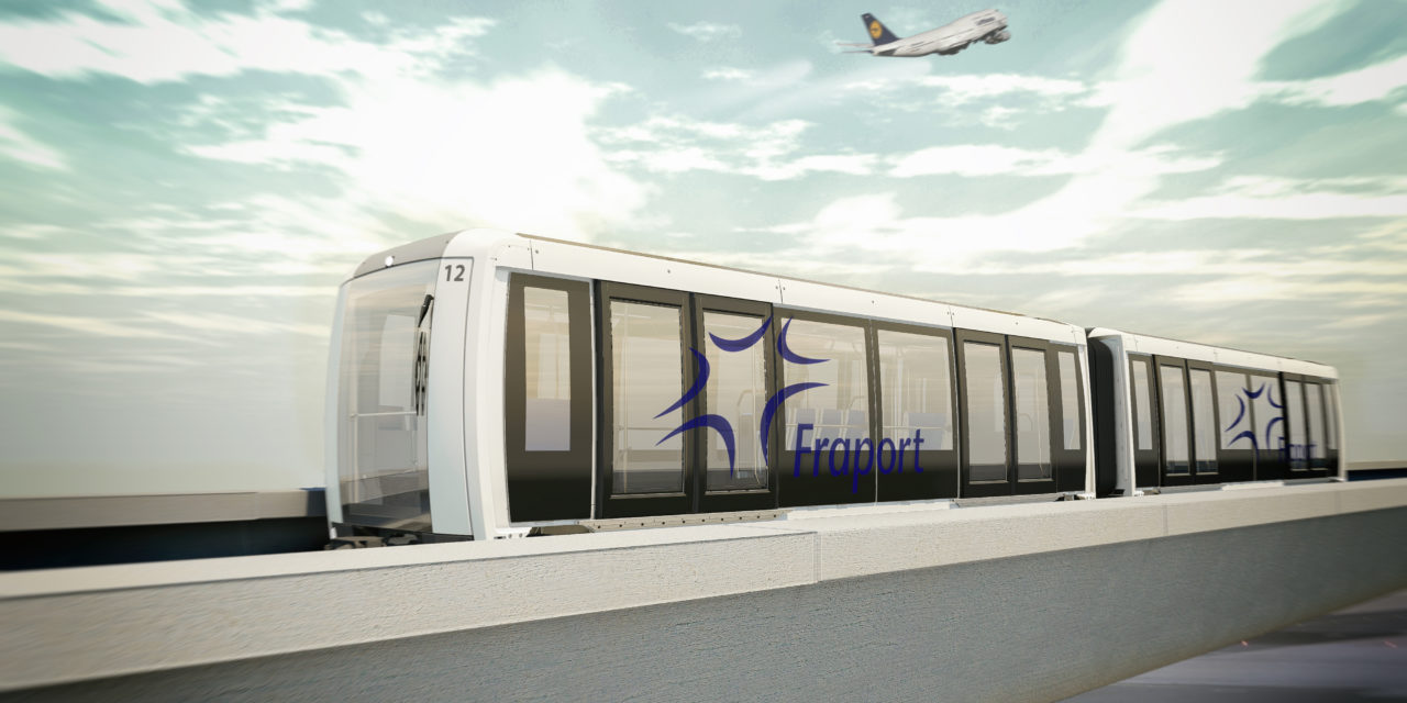 Siemens delivers fully automated people mover for the Frankfurt Airport