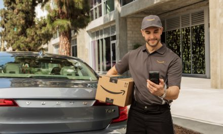 Volvo partners with Amazon for in-car delivery services
