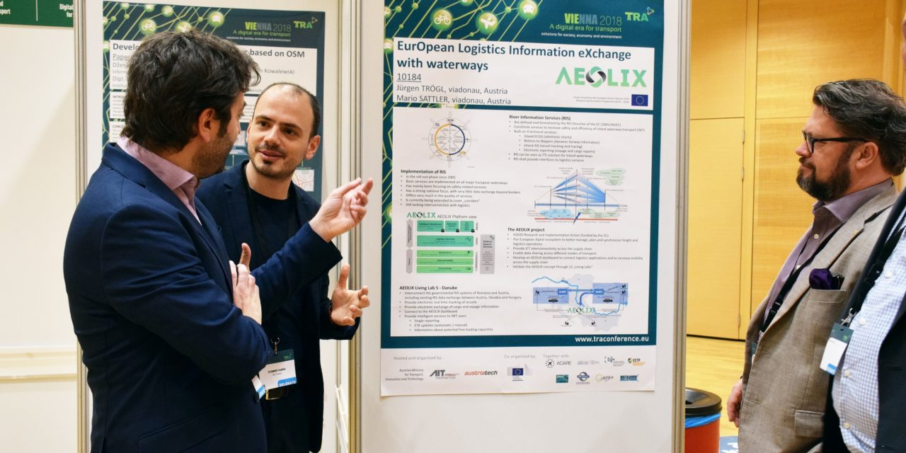 Data sharing network for transport & logistics showcased in Vienna