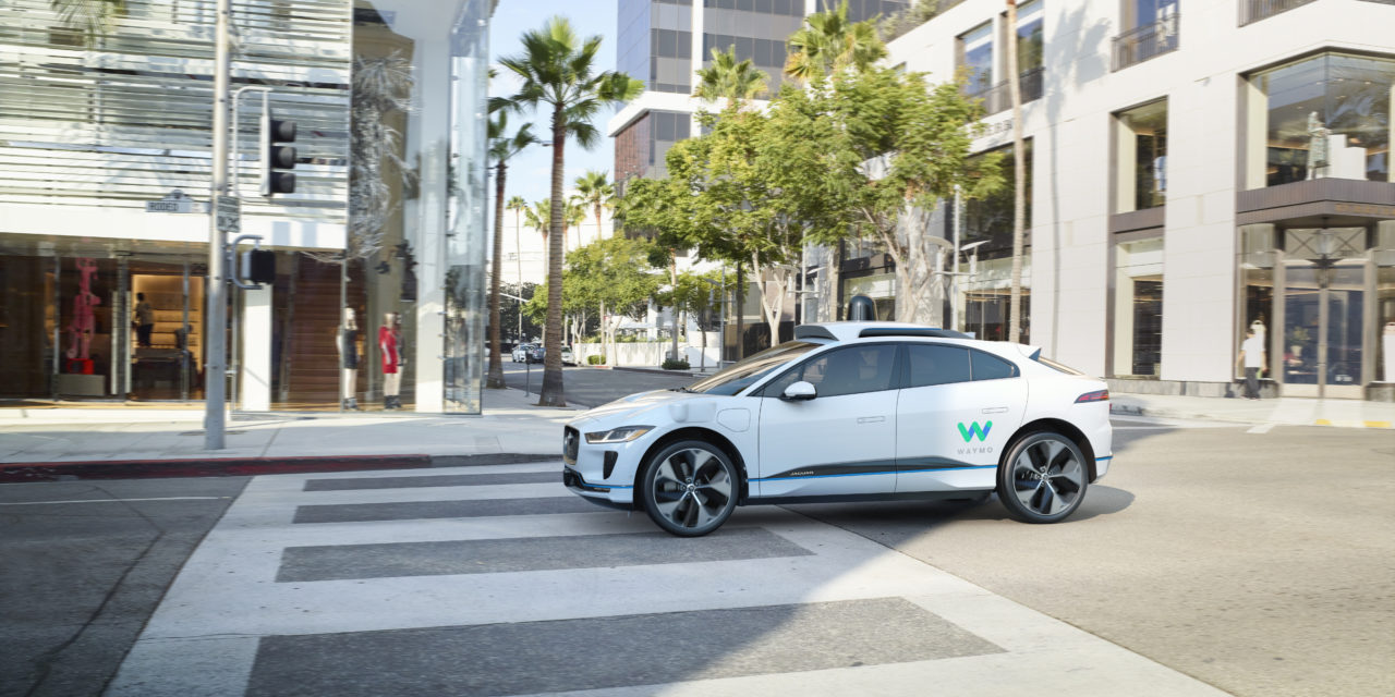 Jaguar Land Rover and Waymo develop first premium self-driving electric vehicle