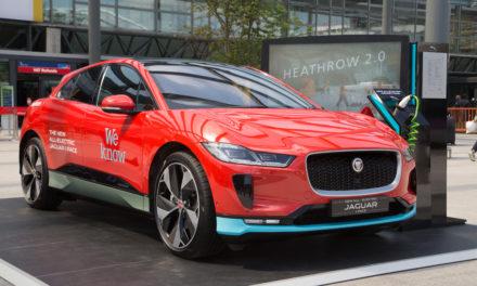 Jaguar provides Heathrow airport with new zero emissions luxury vehicle