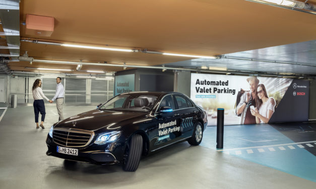 Bosch develops Automated Valet Parking
