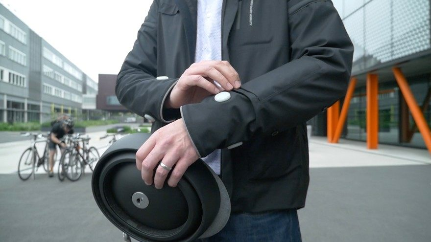 "Ford introduces ""Smart Jacket"" with sensors and signals for cyclists"