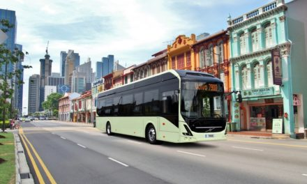 Volvo demonstrates autonomous bus
