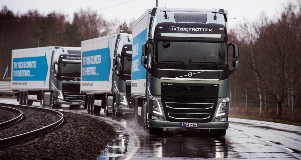 Large-scale deployment of multi-brand truck platooning on European roads
