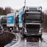 Large-scale deployment of multi-brand truck platooning on European roads