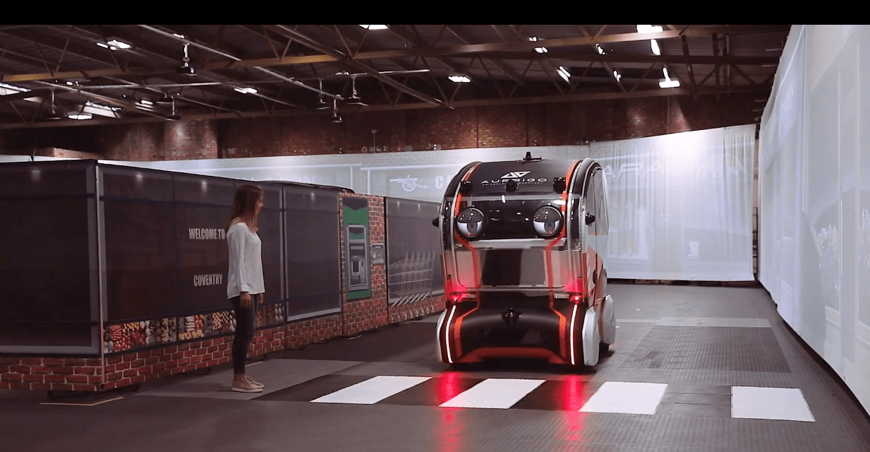 Jaguar-Land Rover fit eyes to self-driving pods
